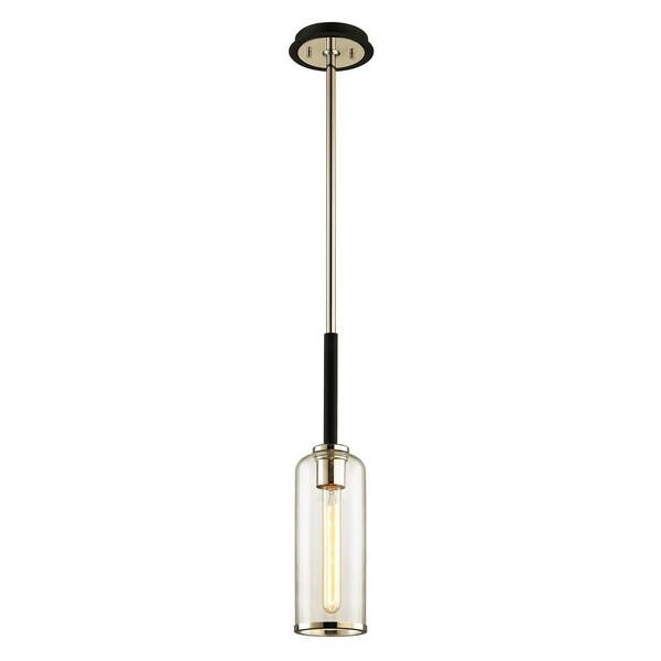 Troy Lighting Aeon 1-light Carbide Black Pendant