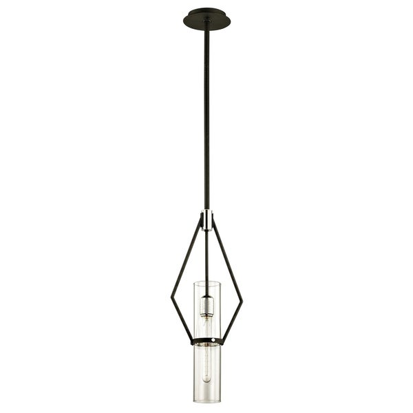 Troy Lighting Raef 24-inch Textured Black Pendant