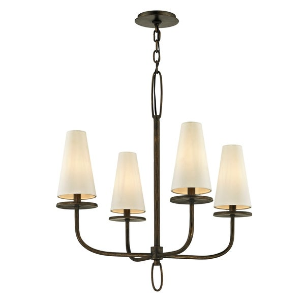Troy Lighting Marcel 4-light Pompeii Bronze Chandelier