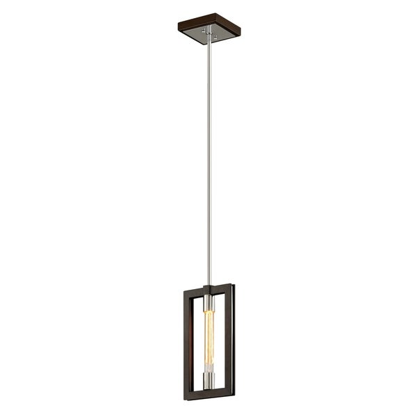 Troy Lighting Enigma 1-light Bronze Pendant
