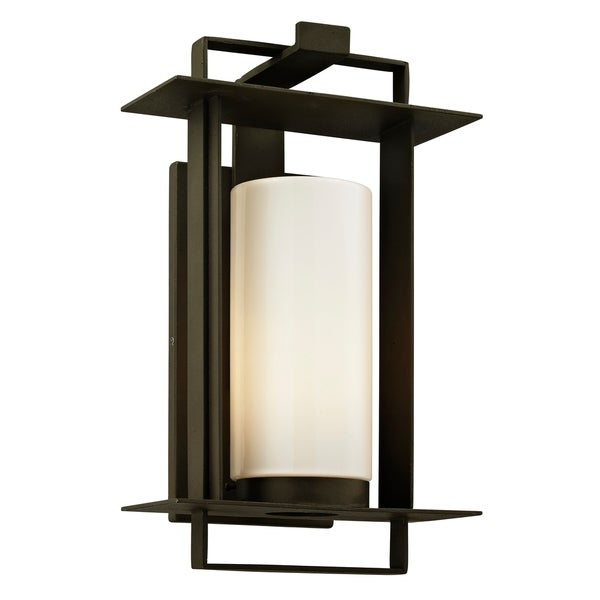 Troy Lighting Kendrick 1 Light Bronze Small Outdoor Wall Sconce