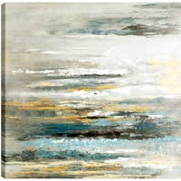 Abstract Art Canvas Oil Painted Wall Art Décor, Gallery Wrapped 32x32 Ready to Hang, ArtMaison.ca
