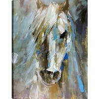 Portrait of A Horse, Animal Art,  Fresh Printed Canvas Wall Art Décor, Gallery Wrapped 30X40 Ready to Hang, Artmaison.ca