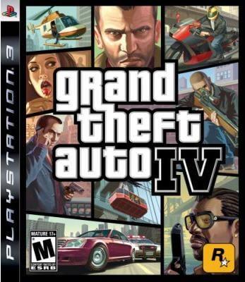 PS3 - Grand Theft Auto IV