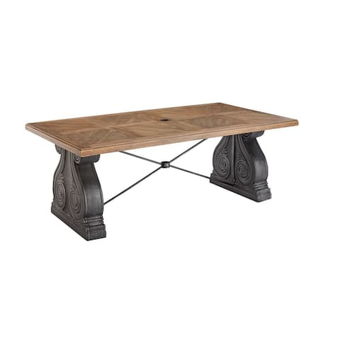 A.R.T. Furniture Arch Salvage Outdoor - Lyon Rectangular Dining Table