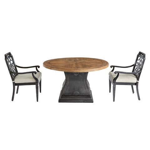 A.R.T. Furniture Arch Salvage Outdoor - Lyon Round Dining Table