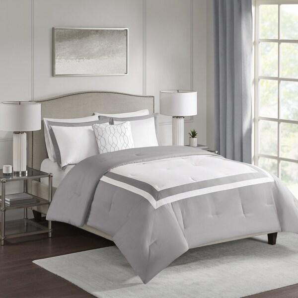 510 Design Hanson Grey 4-piece Comforter Set