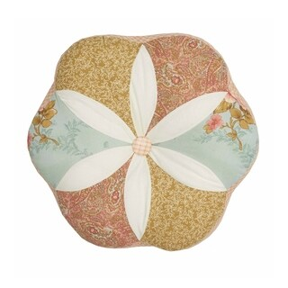Nostalgia Home Medford Round Decorative Pillow
