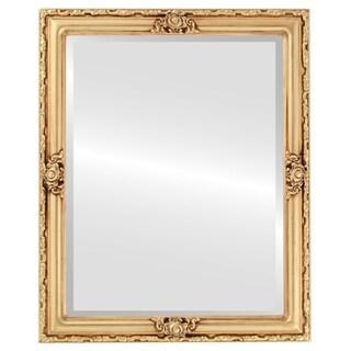 Jefferson Framed Rectangle Mirror in Gold Leaf (More options available)