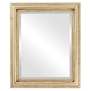Philadelphia Framed Rectangle Mirror in Gold Leaf
