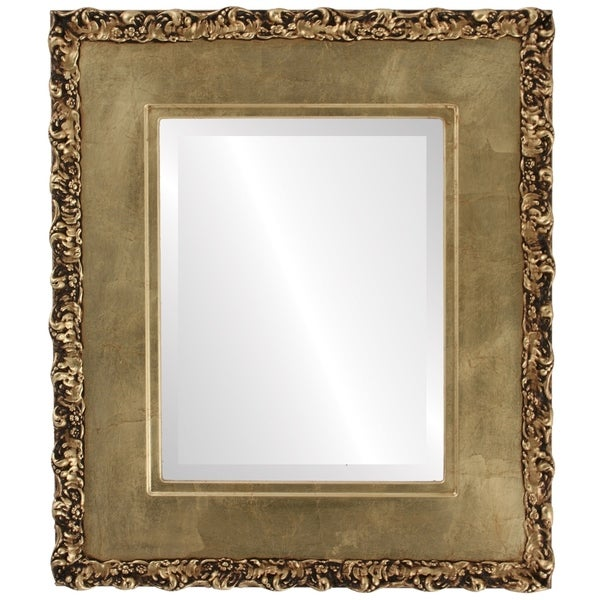 Williamsburg Framed Rectangle Mirror in Gold Leaf