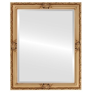 Jefferson Framed Rectangle Mirror in Gold Paint (More options available)