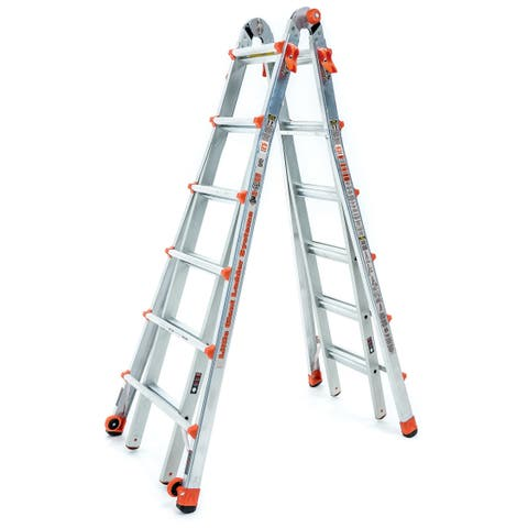 Little Giant Aluminum LT-26' Multipurpose Ladder