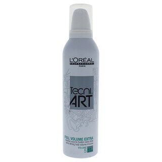 L'Oreal Professional Tecni Art Full Volume 8.5-ounce Extra Force 5 Extra Strong Hold Mousse