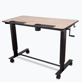 Luxor Two- Student Standing Desk with Crank