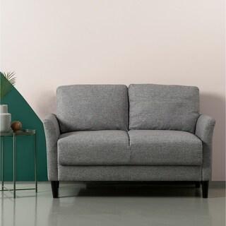 Sofa Light Gray Loveseat for 2p