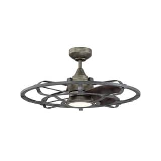 Shop Fanimation Beckwith Oil Rubbed Bronze 23 Inch 4 Light