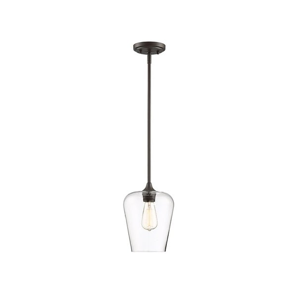 Octave 1-light Curved Glass Pendant. Opens flyout.