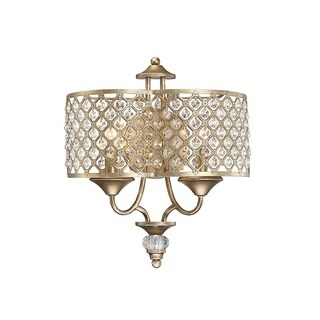 Regis Pyrite 2-light Sconce
