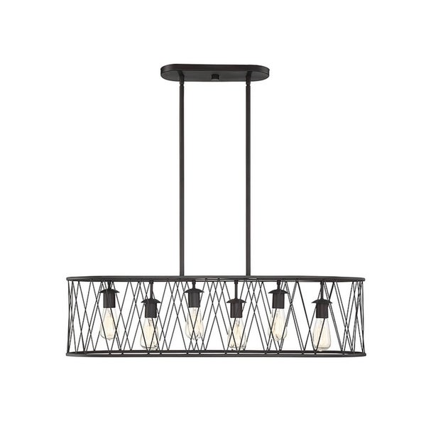 Birmingham English Bronze 6-light Chandelier