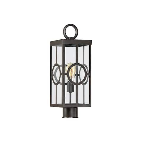 Lauren English Bronze 1-light 19.75-inch Post Lantern