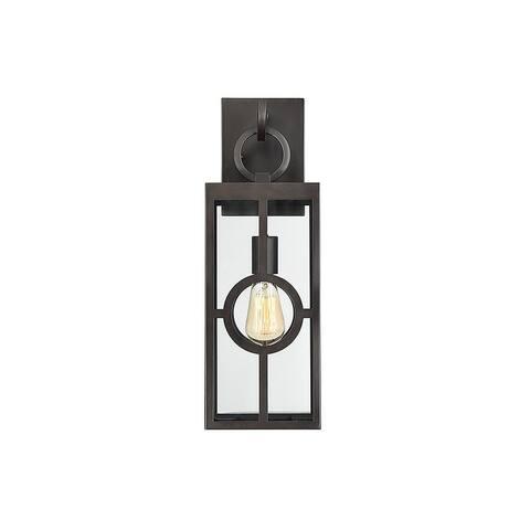 Lauren English Bronze 1-light 19.25-inch Wall Lantern