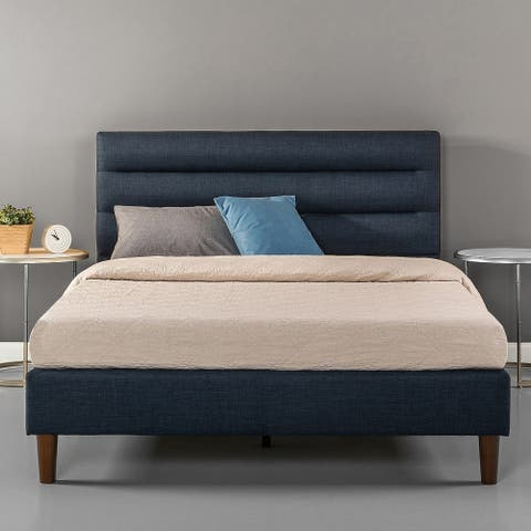 Priage by Zinus Horizontally Cushioned Platform bed