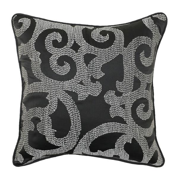 Kosas Home Eva Embroidered 18-inch Throw Pillow