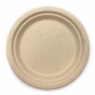 22 oz Round Bagasse Bowls with PLA Coating (1000)
