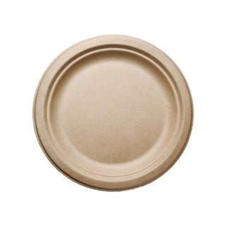"9"" Round Bagasse Plates (500)"