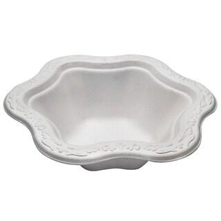 12 oz Acanthus Collection Floral Premium White Bowls (100)
