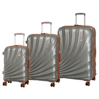 it luggage Pagoda 3-Piece Expandable Hardside Spinner Luggage Set