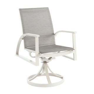 A.R.T. Furniture Cityscapes Outdoor - Claidon Swivel Dining Rocker - Sold as Set of Two