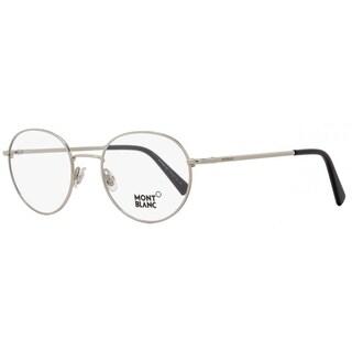 Montblanc MB559 016 Mens Palladium/Black 50 mm Eyeglasses
