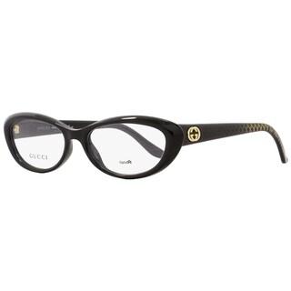 Gucci GG3566 W6Z Womens Black 52 mm Eyeglasses