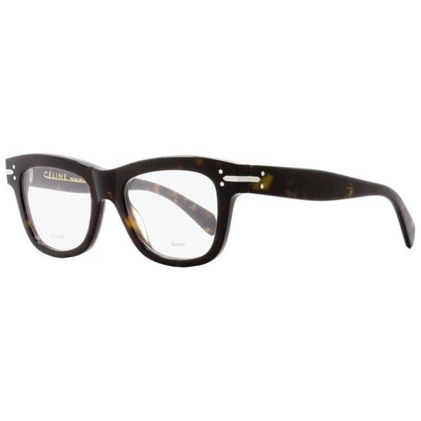 1180c20f67 Shop Celine CL41335 086 Womens Dark Havana 50 mm Eyeglasses - Dark ...