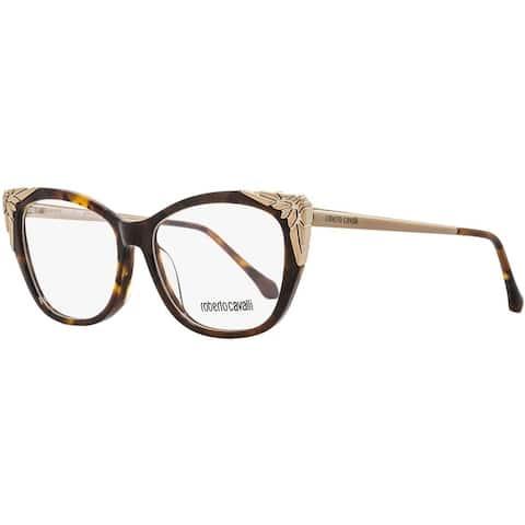 Roberto Cavalli RC5008 Arcidosso 052 Womens Dark Havana/Bronze 55 mm Eyeglasses - dark havana/bronze
