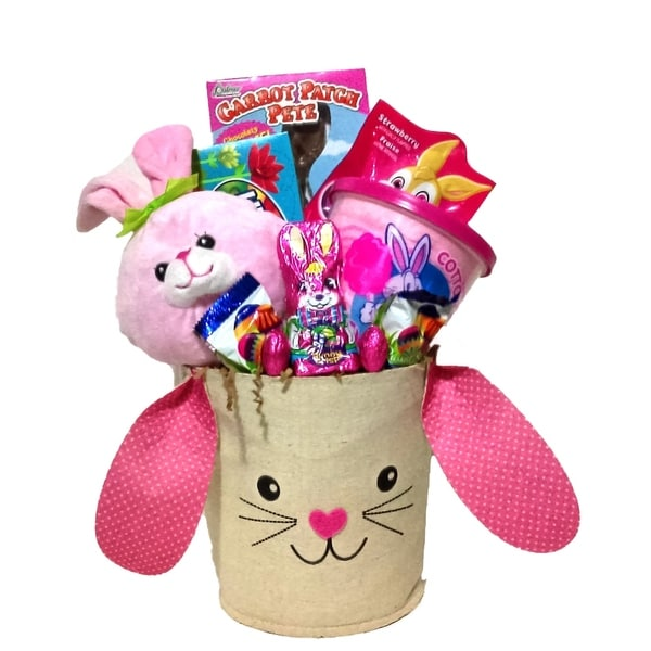 Bunny hop girls easter basket free shipping on orders over 45 bunny hop girls easter basket negle Images