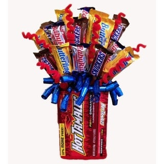 Link to Celebrations Hot Tamale Candy Bouquet Similar Items in Gourmet Food Baskets