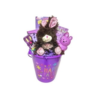 Happy Easter Purple Easter Pail