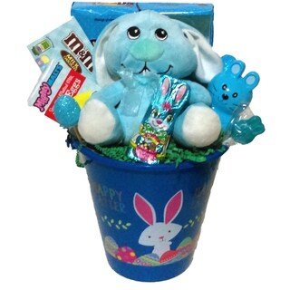 Happy Easter Blue Easter Pail