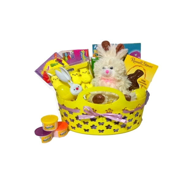 Deluxe childrens easter basket free shipping today overstock deluxe childrenx27s easter basket negle Images