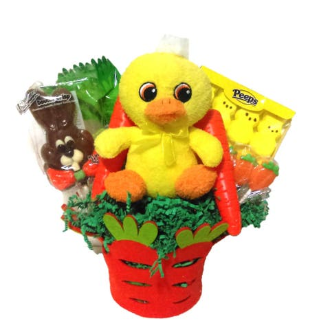 Carrot Patch Easter Basket