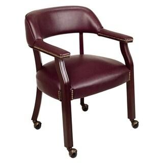 Burgundy Guest Chair