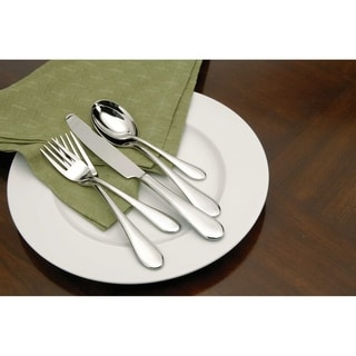 Oneida Icarus Stainless Steel 20-Piece Flatware Set -Service for 4