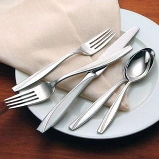 Oneida Camlynn Mirror Stainless Steel 45-Pc Flatware Set -Service for 8
