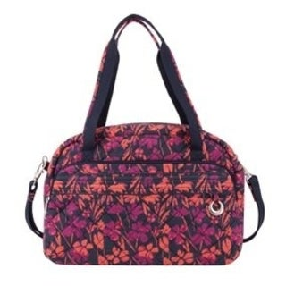 Travelon Anti-Theft Boho Painted Floral Carry On Weekender Duffel Bag