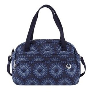 Travelon Anti-Theft Boho Geo Sunflower Carry On Weekender Duffel Bag