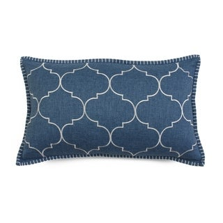 12x20 FF Ava Whipstitch Embroidered Pillow