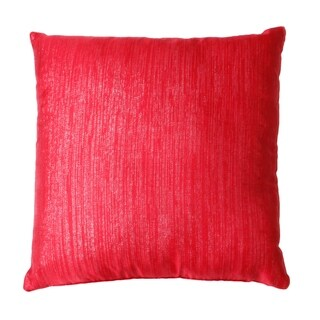 Set of Two 20x20 Red Vilma Sparkle Pillows